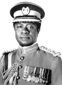Ignatius Kutu Acheampong takes over Ghana in a coup d'etat on 13 January 1972