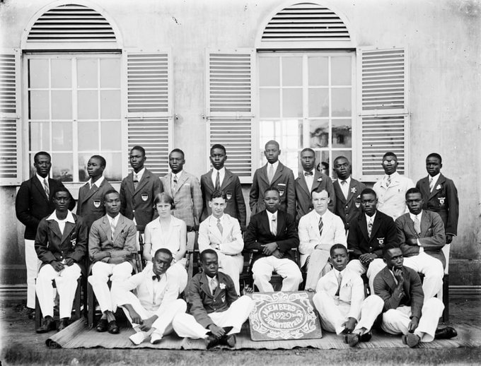Prince of Wales College and School, later Achimota College was founded in Achimota, Gold Coast (nowGhana) in 1924 by Dr. James Emman Kwegyir Aggrey