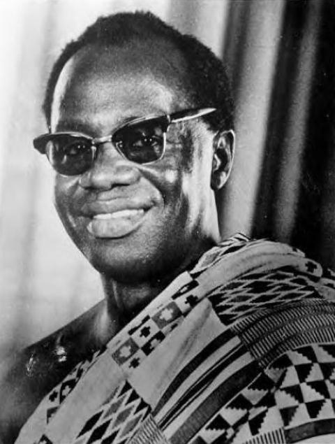 Ignatius Kutu Acheampong led a coup d'etat against Busia on 13 January 1972