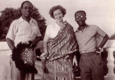 Enid Margaret Cripps (Peggy Appiah), the Well-Known British-Ghanaian Writer of Books for Children and Wife of the Late Ghanaian Statesman Joe Appiah