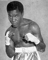 In April 30, 1951, Roy Ankrah won the British Empire featherweight title after beating Ronnie Clayton at the Earls Court Empress Hall, Kensington, London.