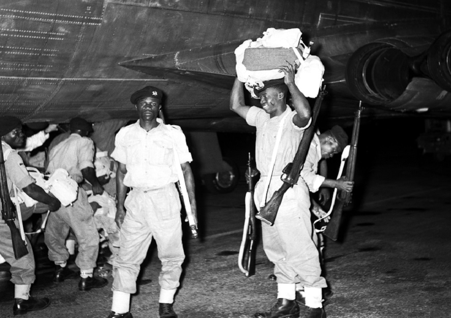 Today in History, exactly 59 years ago, on April 28, 1961, 43 Ghanaian peacekeepers were killed in one of the UN's deadliest missions by the Congolese army at Port Franqui, Kasai, Congo.