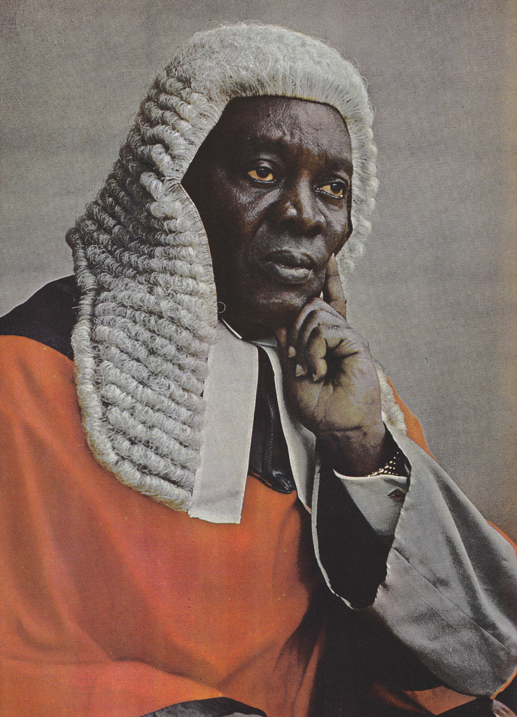 Sir Kobina Arku Korsah (1894-1967) was the first African Chief Justice of Gold Coast (1956) and independent Ghana (1957-1963).