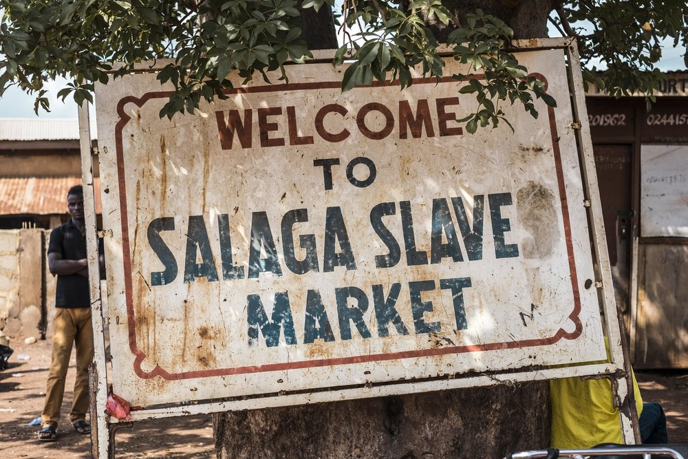 Salaga Slave Market is an 18th-century slave market located in the East Gonja District of northern Ghana.