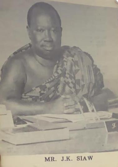 Joshua Kwabena Siaw Popularly known as J. K. Siaw was a Ghanaian industrialist and philanthropist, who in 1969 established Tata Brewery Ltd, later known as Achimota Brewery Company (ABC) and now known as Guinness Ghana Breweries.