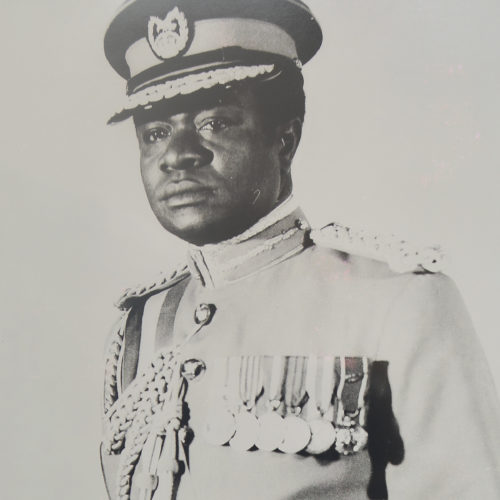 On 30 May 1975, at the Accra Community Centre, the Action Unit of the office of the Chairman of the National Redemption Council, Colonel Kutu Acheampong sold a quantity of hoarded items to members of the general public.