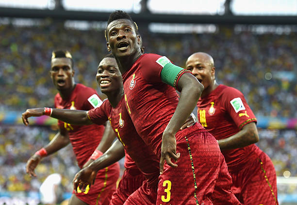 Today in History, exactly 6 years ago, on 21 June 2014, Ghana's Asamoah Gyan Became the 1st African Player to Score at 3 Different World Cups.