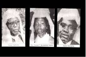on 30 June 1982, three High Court Judges as well as a retired army officer were murdered in cold blood at the Bundase Military Range in the Accra Plains, after being abducted on the night by some unidentified assailants.