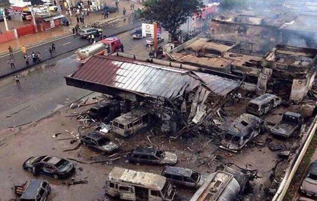 Today in History, exactly 5 years ago on June 3 disaster, Ghana experienced the worst flood disaster with the combination of a fire Outbreak at Kwame Nkrumah circle in Accra that claimed the lives of 154 people and left scores of others injured, some victims are still nursing injuries.