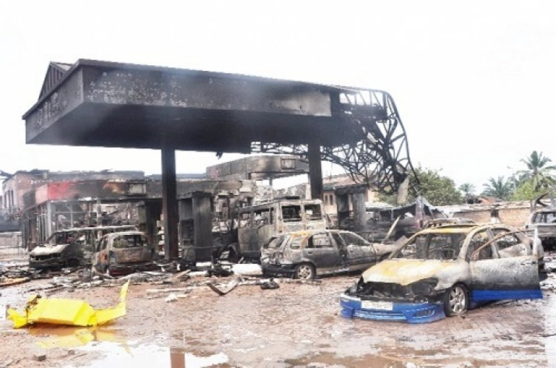 Today in History, exactly 5 years ago on June 3, 2015, Ghana experienced the worst flood disaster with the combination of a fire Outbreak at Kwame Nkrumah circle in Accra that claimed the lives of 154 people and left scores of others injured, some victims are still nursing injuries.