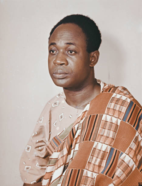 on 9 July 1972, Osagyefo Kwame Nkrumah was buried at his hometown in Nkroful after he died in Bucharest, Romania after six years in exile in Guinea