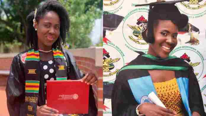 Meet Florentina Naa Djama Odoi who got 10-ones in JHS, 6As in SHS, first class in KNUST and 4.0 GPA during Expert's in Applied Statistics.