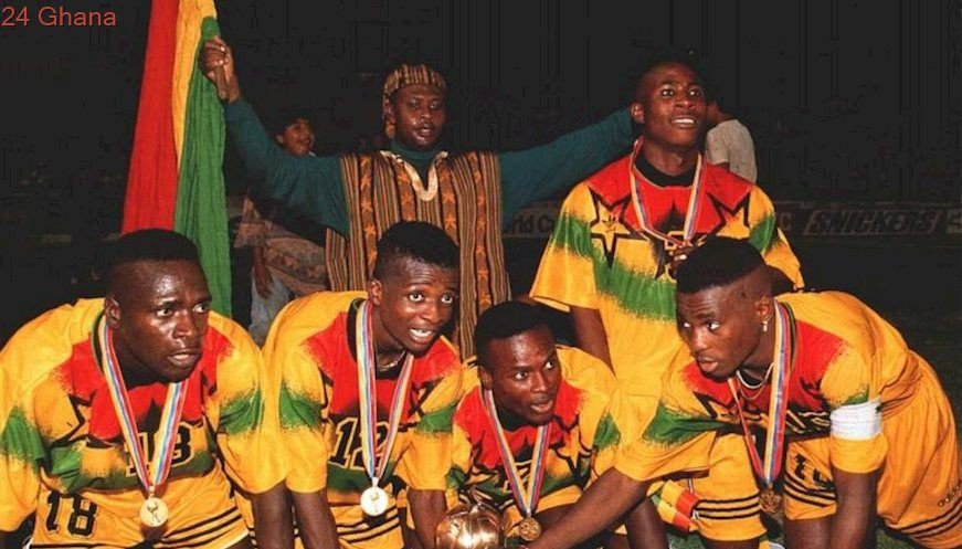 Today in Football History, On the 20th of August, 1995, Ghana Beat Brazil 3-2 To Lift the FIFA U-17 WC In Ecuador 1995. Ghana first won the Trophy in 1991.