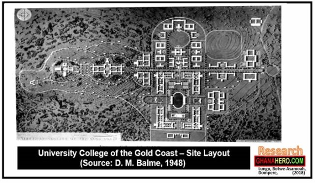 The University College of the Gold Coast (Now University of Ghana) was founded by Ordinance on August 11, 1948