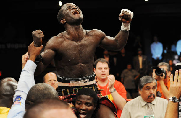 Today in History, exactly 12 years ago, On August 2, 2008, Ghana's Joshua Clottey captured the IBF World welterweight title